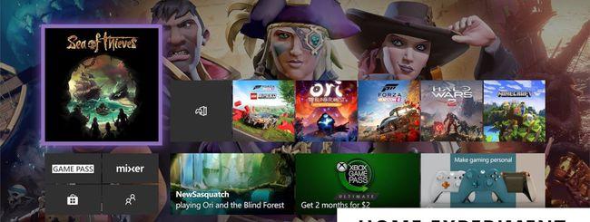 Microsoft testa una nuova dashboard per Xbox One