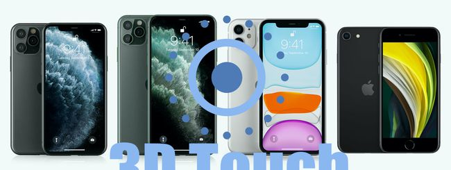 iPhone 11, iPhone 11 Pro e iPhone SE: addio al 3D Touch