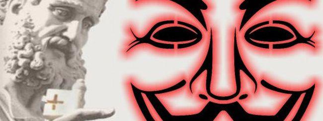 Anonymous, Tango Down per Radio Vaticana