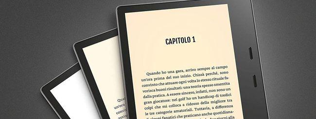 Kindle Oasis, nuova versione con luce regolabile
