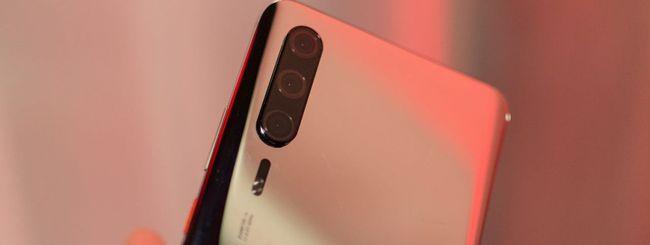 Huawei P30 Pro, prototipo mostrato al MWC 2019
