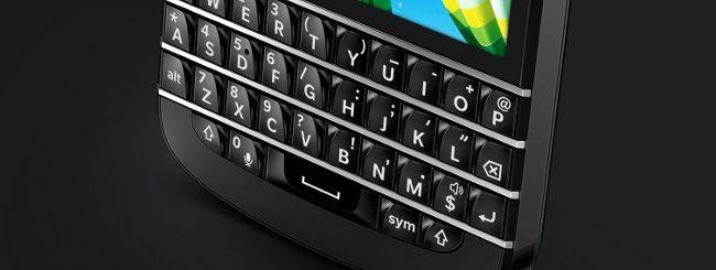 BlackBerry Q10, anche in Italia
