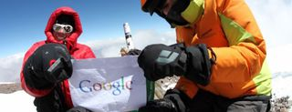 Google Maps in montagna