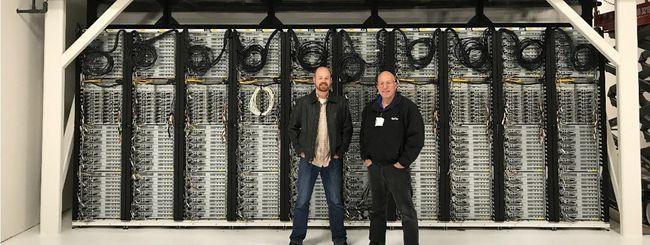 Microsoft, primo datacenter a gas naturale
