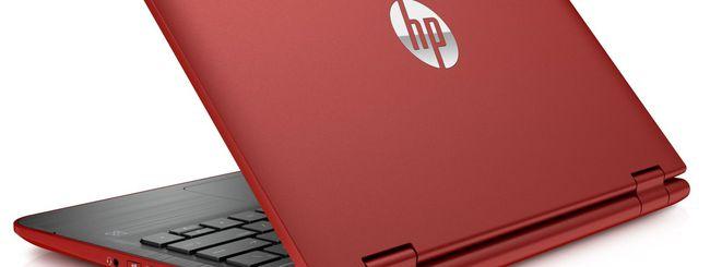 HP Pavilion x360 diventa rosso per San Valentino