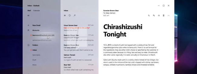 Project Neon, nuovo design in Windows 10 Redstone 3