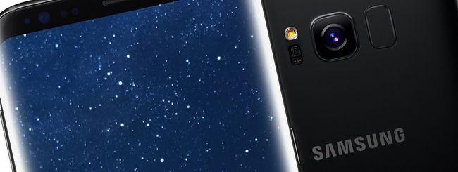 Wind regala un Samsung Galaxy S8