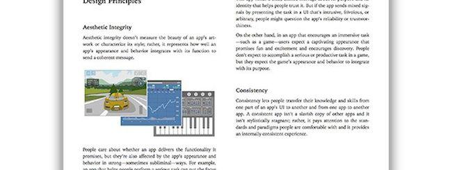 iOS Human Interface Guidelines, su iBooks le linee guida dell'Interfaccia di iOS