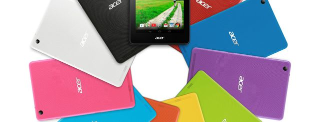 Acer Iconia, nuovi tablet Android economici