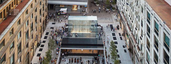 Apple Store Piazza LIberty