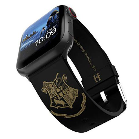 Harry Potter, cinturino per Apple Watch con licenza ufficiale - Hogwarts Gold