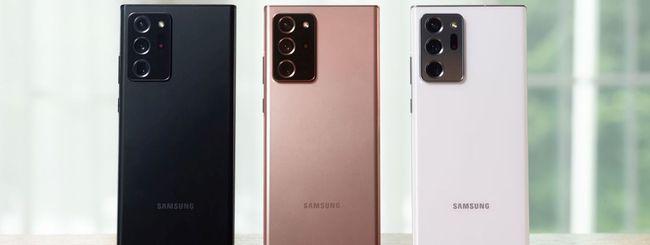 Samsung Galaxy Note20 scontato di 180 euro su Amazon