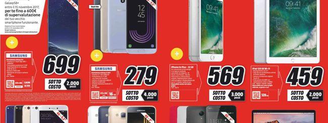 Sottocosto MediaWorld, Galaxy S8+ a 699 euro