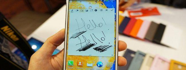 Ecco Samsung Galaxy Note 3: più sottile e potente