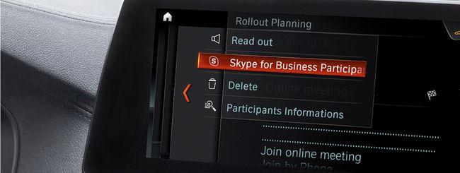 Microsoft e BMW portano Skype sulla Serie 5