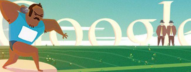 Olimpiadi di Londra 2012, doodle per il lancio del peso