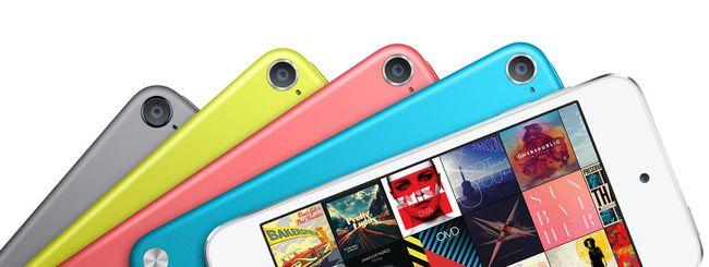 Apple lancia un nuovo iPod Touch da 16 GB