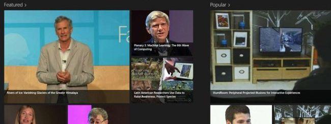 Microsoft Research Video Library, la scienza a portata di dita