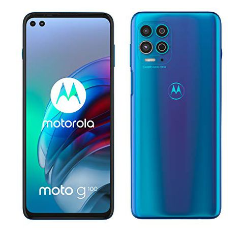 Motorola moto g100 (Iridiscent Blue)