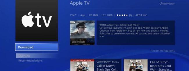Apple TV sbarca finalmente su PS4 e PS5