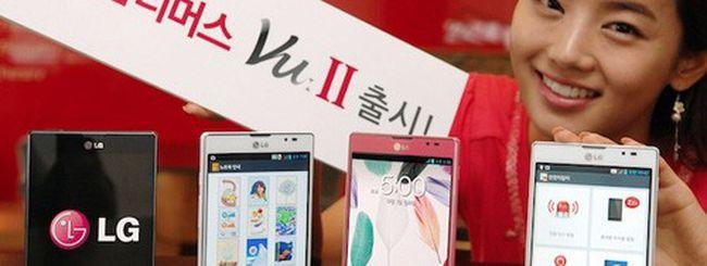 LG Optimus Vu 2, specifiche e immagini del phablet