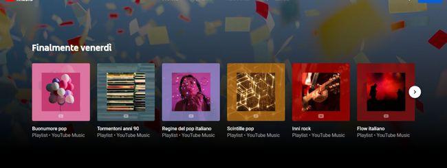 YouTube Music, upload della musica personale