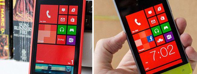 HTC presenta Windows Phone 8X e Windows Phone 8S