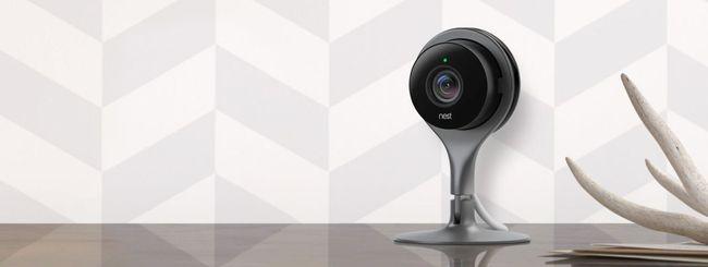 Nest aggiorna l'app delle videocamere con Sightline