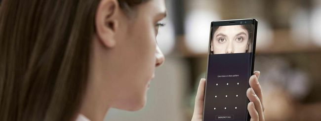 Anche il Galaxy Note 8 si sblocca con una foto