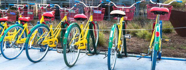 Mountain View: le bici di Google gettate nel fiume