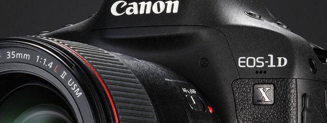 Canon EOS-1D X Mark II, la nuova ammiraglia