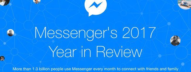 Facebook Messenger, 17 miliardi di videochiamate