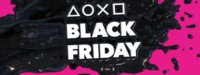 Black Friday: Sony PS Plus e giochi PS4 in offerta