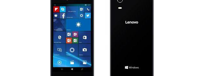 Lenovo svela il primo smartphone Windows 10 Mobile
