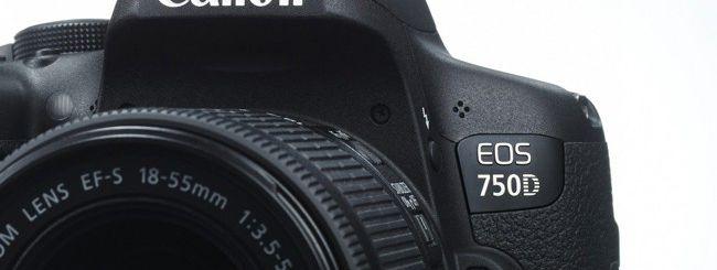Canon EOS 750D provata in anteprima