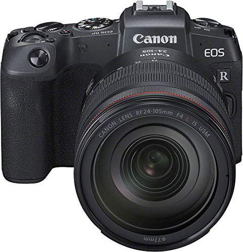 Canon EOS RP con obiettivo RF 24-105MM F/4 L IS USM