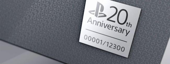 Una PS4 dal design retro per festeggiare i 20 anni