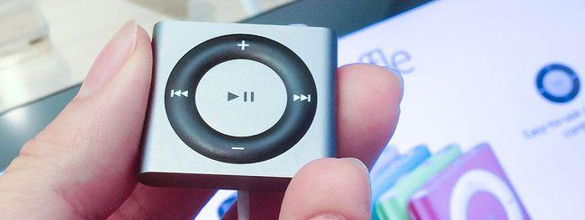 iPod prossimo alla morte