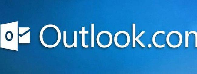 Outlook.com, tre giorni di blackout