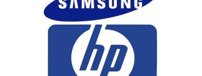 Samsung acquisirà la divisione PC di HP?