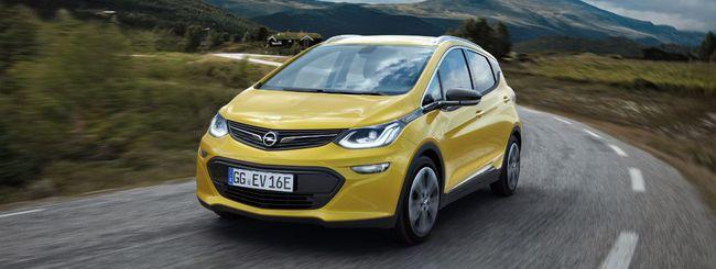 Opel Ampera-e sfida Tesla con 400 Km di autonomia
