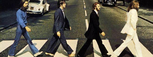 I Beatles in streaming