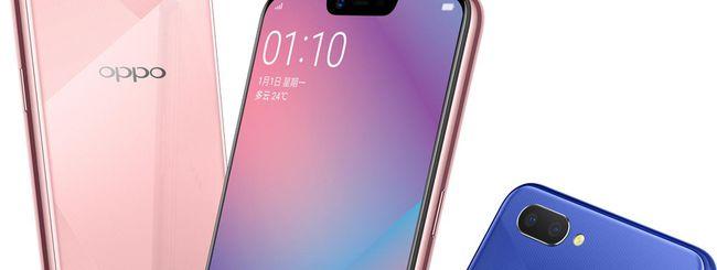 Oppo A5, smartphone economico con notch