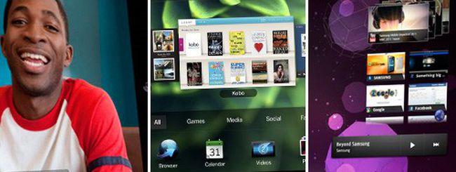 iPad 2, BlackBerry PlayBook e Galaxy Tab a confronto