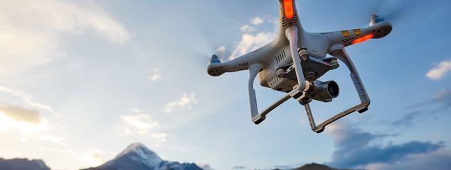 5G: TIM, monitoraggio del territorio con i droni