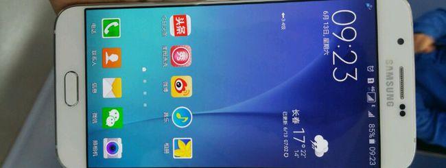 Samsung Galaxy A8, prime immagini del phablet