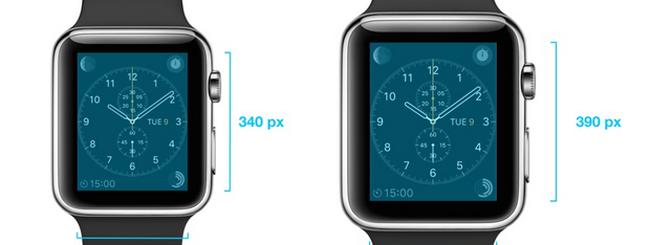 iOS 8.2 svela la risoluzione degli Apple Watch