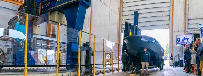 L'enorme stampante 3D che costruisce una barca