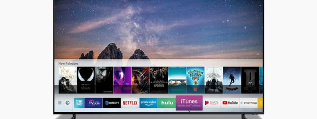 Samsung Smart TV, arrivano iTunes e AirPlay 2