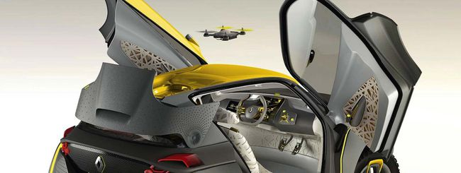 Renault Kwid, il SUV con il drone compagno